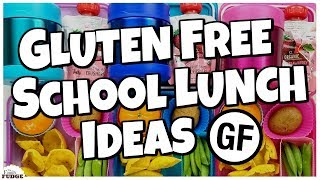 6 GLUTEN FREE School Lunch Ideas  🍎 Bunches Of Lunches FAVORITES