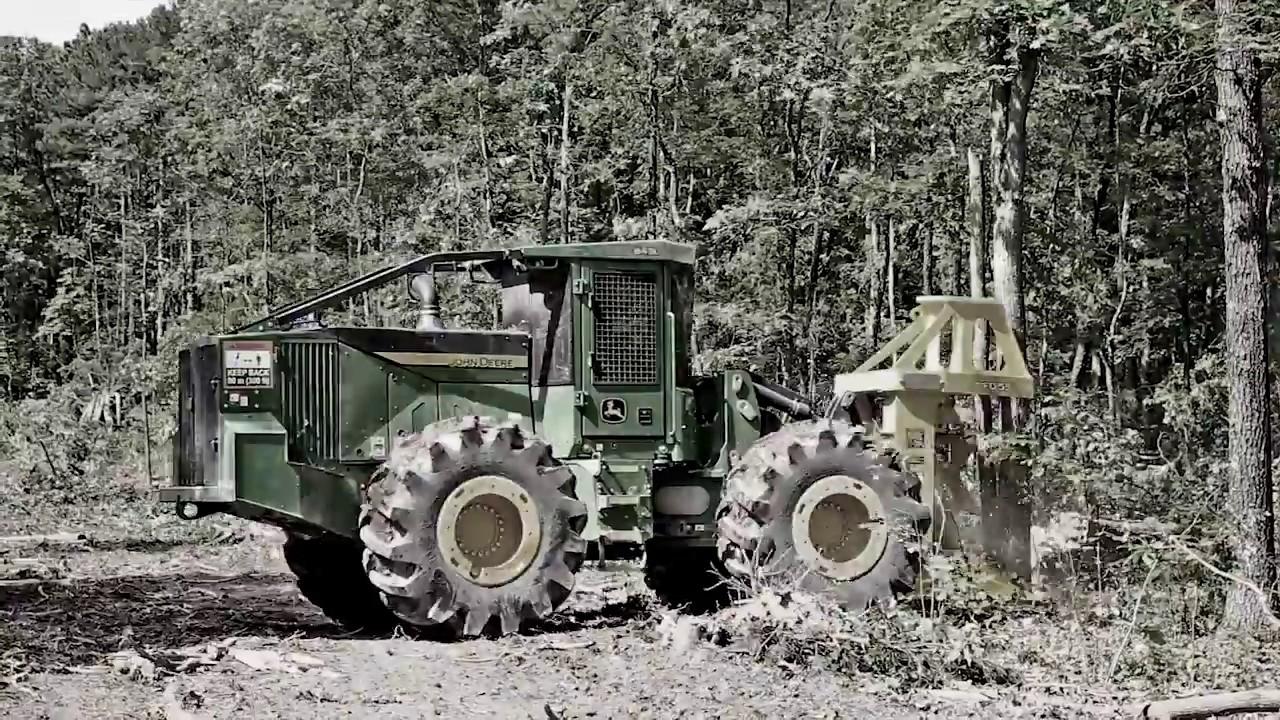 Outrun them all - John Deere Forestry Equipment