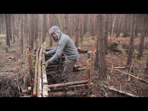 5 Bushcraft Shelters - Full Camp Builds Start To Finish
