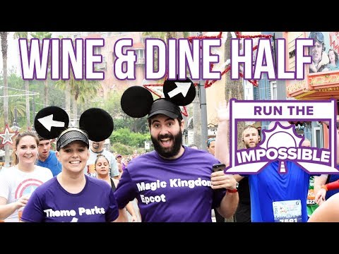 RunDisney Wine and Dine Half Marathon 2017 Race Review & Recap