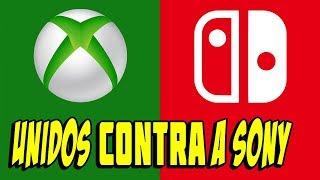 Nintendo e Xbox Se Unem CONTRA a Sony!!!