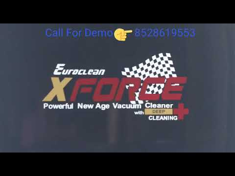 Euroclean X-Force ~ Portable and powerful vacuum cleaner for deep Cleaning