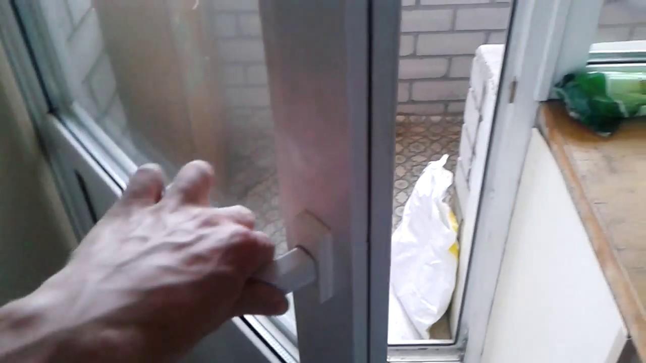 Видео: как открыть пластиковую балконную дверь изнутри? - yo.