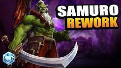 SAMURO REWORK!! // Heroes of the Storm