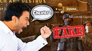 EXPOSED FOR HACKING in COD WW2?! (FULL PARTY RAGE QUIT!)