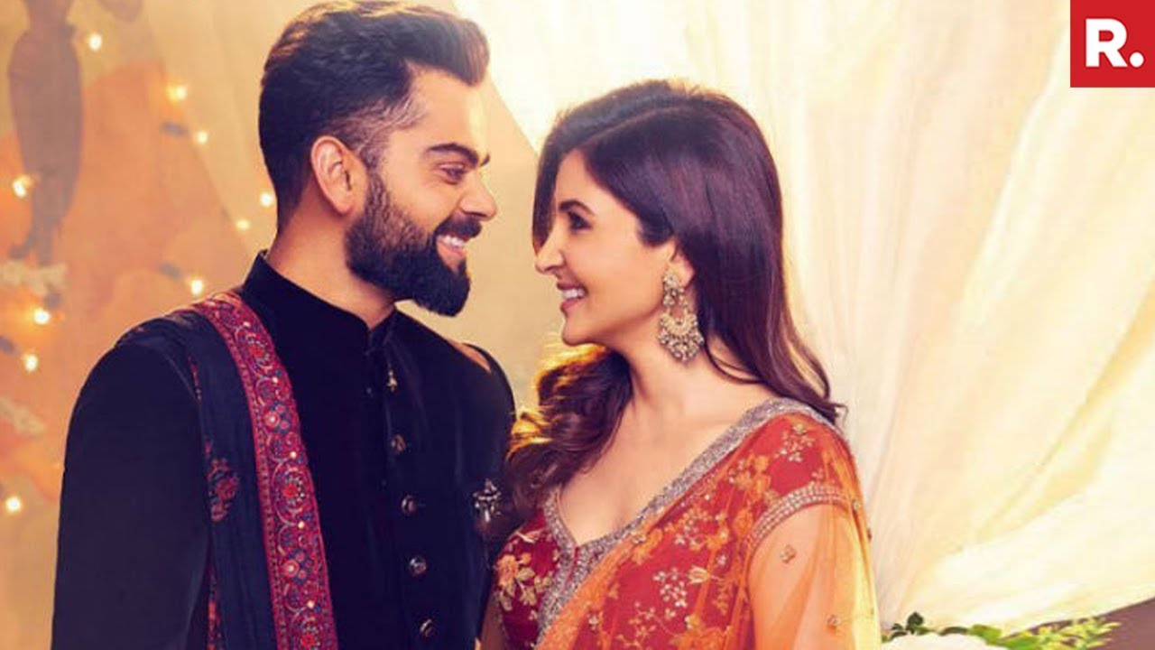 e2d7e7cce11 Anushka Sharma   Virat Kohli Wedding In Italy   - YouTube