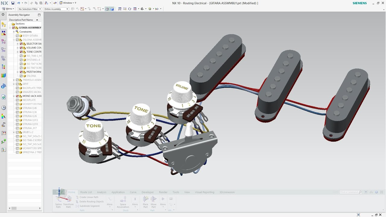 Siemens Nx 10 Routing Electrical Youtube Wire Harness Assembly Workbench