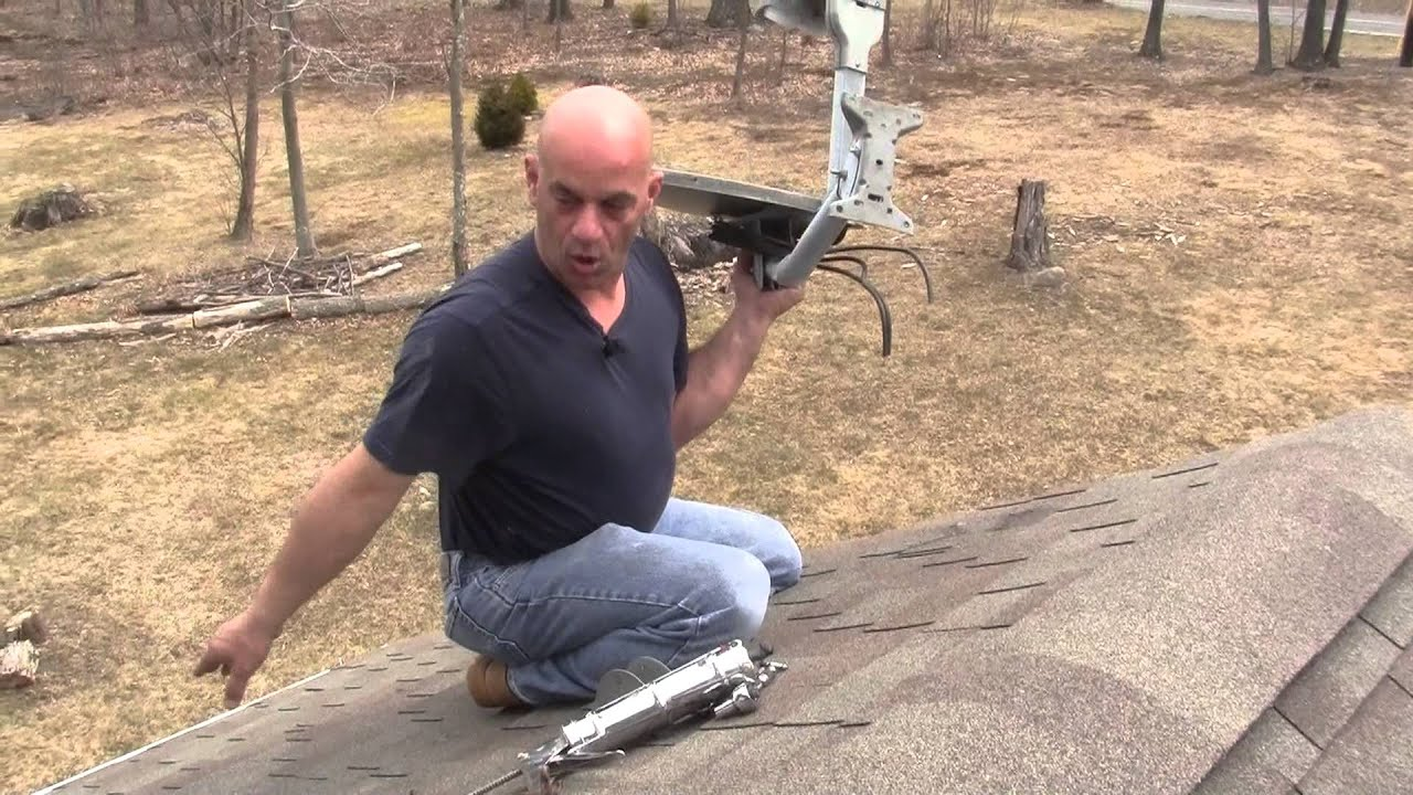 How To Remove A Satellite Dish And Seal The Holes Left Behind