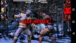 Mortal Kombat X Android - Let's play Español Android #2