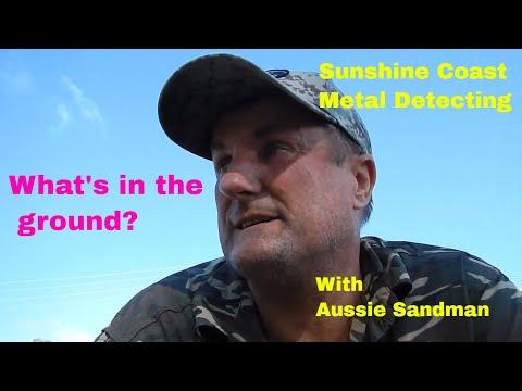 Metal Detecting Sunshine Coast Park