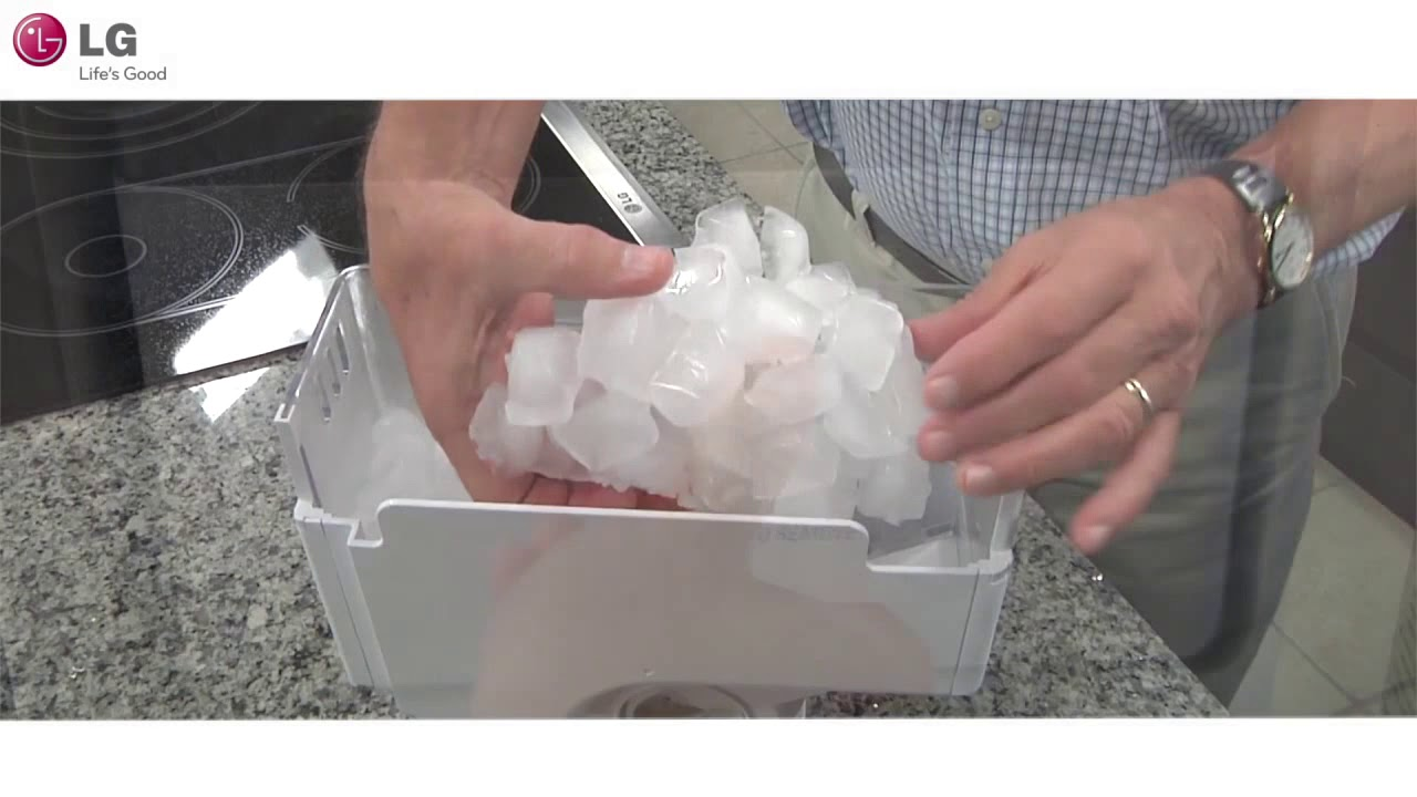 LG French Door Refrigerator - In Door Ice Maker Troubleshoot (2018 Update)