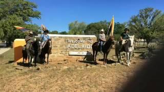 The ride to Karoo Mighty Men 2017.