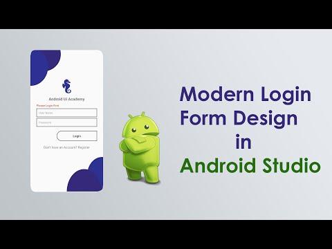 Android - Modern Login Form Design