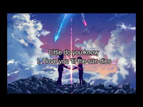 nightcore -  Little Do You Know