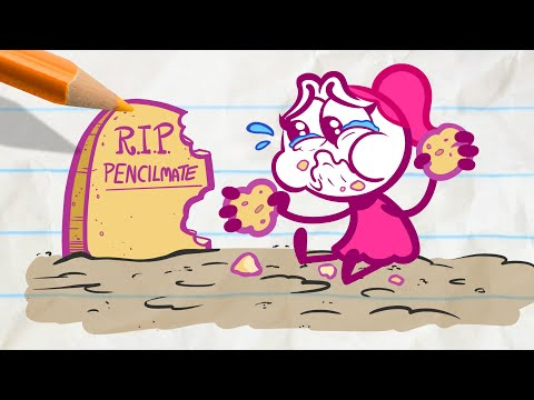 Pencilmate Almost Drowns! -in- THAT SINKING FEELING - Pencilmation Cartoons for Kids