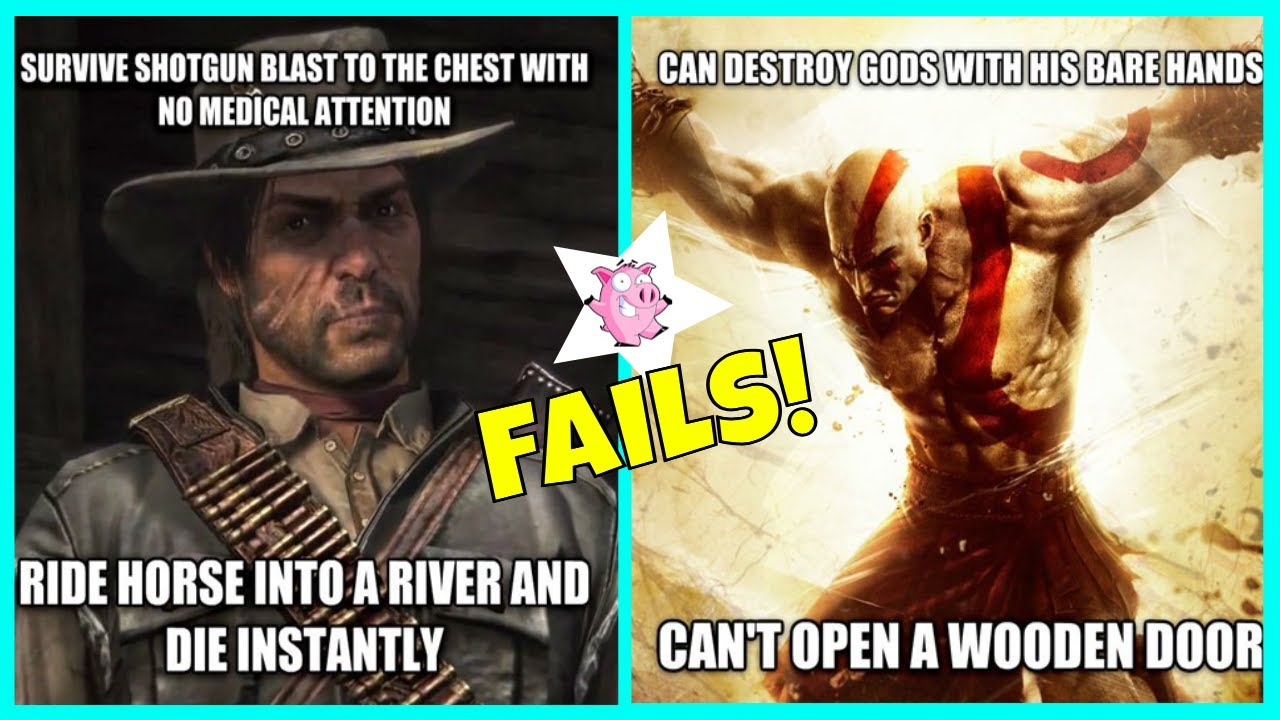 Hilarious Examples Of Video Game Logic Fails Youtube