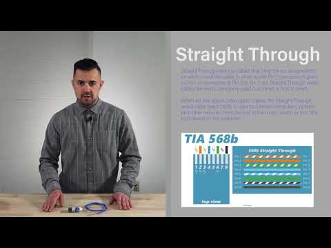 CCS Wiring Guide On Straight Vs Crossover Cables