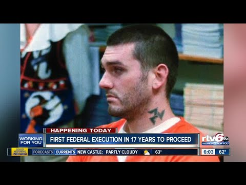 First Federal Execution In 17 Years To Proceed