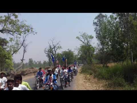 Rajnish kumar sindu prsang  krint 14 April 2017 sukertal to m.nagar (dr.ambedker anniversh day