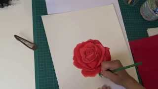 How To Draw A Rose, Comment dessiner une rose