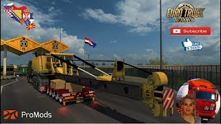 Euro Truck Simulator 2 (1.34)   Project Balkans 3.2 for 1.34x Promods map 2.33 1.34x New Cities Bosnia Erzegovina Scania S 2016 Next Gen 8x4 by SCS Software Doll Vario / Panther 5Axles Owned Version 8.1.3 by Roadhunter + DLC's & Mods  Support me please th