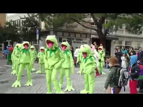 Carnevale Gorizia 2014 - sfila il carro di Siacco Ud