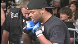 Green Power Ranger JASON DAVID FRANK vs. CARLOS HORN UWC® MMA DEBUT May 2010