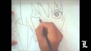 Рисуем Саске карандашом(, 2015-03-31T15:08:17.000Z)