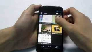 Remove Picasa, Blogspot & synchronized photos from gallery of Nexus 4 Android phone