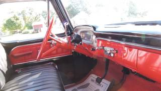 1965 ford pickup up shortbox black for sale at www coyoteclassics com