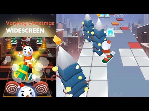 Rolling Sky level 24 Varying Christmas (Widescreen) | Dancing Line news