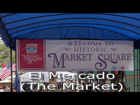 El Mercado - San Antonio, Texas In 4K
