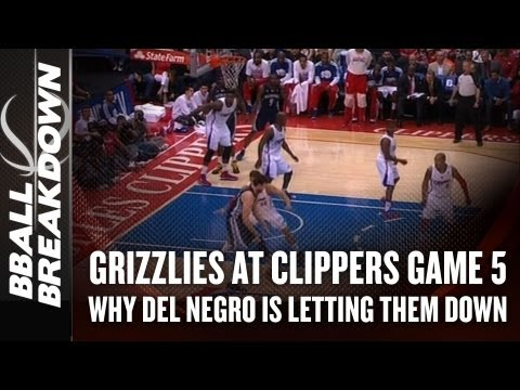 2013 NBA Playoffs: Why Chris Paul Can't Save Del Negro's Job-Grizzlies Clippers Gm 5