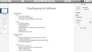 DropShipping Vs Fulfillment House