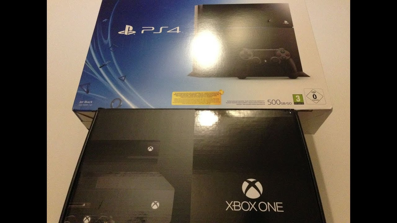 Xbox One Unboxing Xbox One & PS4 ...