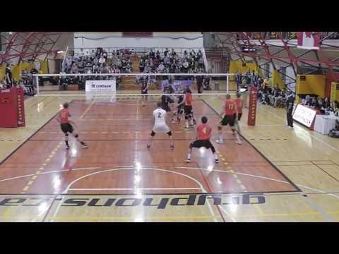 University of Guelph vs Queens University OUA Men's Volleyball