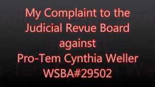 How I make a Judicial Complaint against a Judge in Washington State