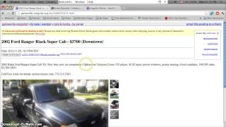 Craigslist Gainesville Florida Used Cars and Trucks - Low Prices For Sale by Owner Classifieds