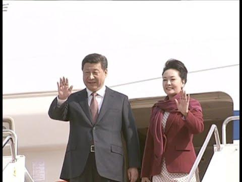 Chinese President Arrives in Kazakhstan for State Visit