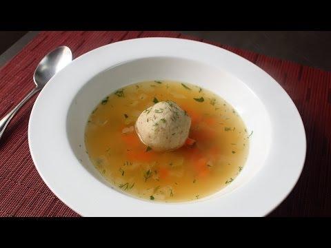Turkey Matzo Ball Soup - Leftover Turkey Soup Recipe for Thanksgivingukkah