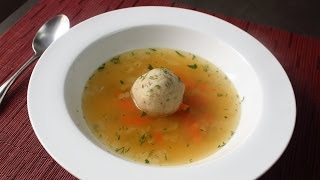 Turkey Matzo Ball Soup - Leftover Turkey Soup Recipe For Thanksgivingukkah