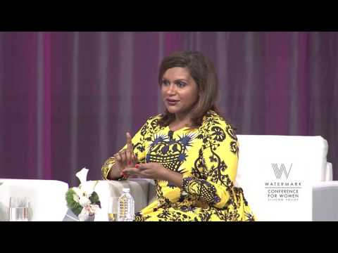 Mindy Kaling and Cindi Leive at the 2016 Watermark Conference for Women