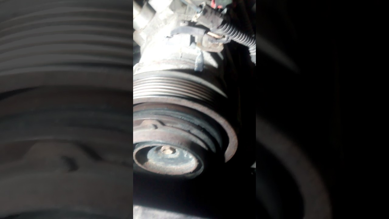 small resolution of how to bypass ac 03 08 dodge 5 7l no bypass pulley youtube 5 7 hemi engine diagram without ac