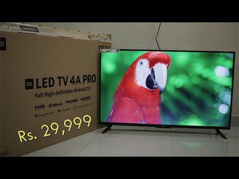 Xiaomi Mi LED TV 4A Pro Review, 49 Inch Android TV With Patch Wall, Priced Rs. 29,999