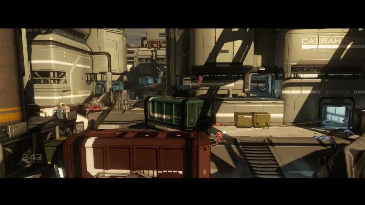 Halo 4 Majestic Map Pack Strategy Landfall Youtube
