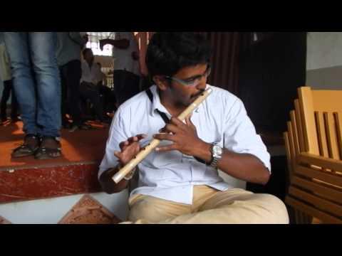 avadhut playing bansuri flute tutorial on teri galiyan