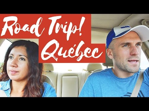 QUEBEC ROAD TRIP! 4 Days in FRENCHLAND