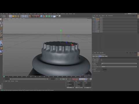Cinema 4D Tutorial Creating A Temple Ruin Scene Part 2 Modelling The Columns