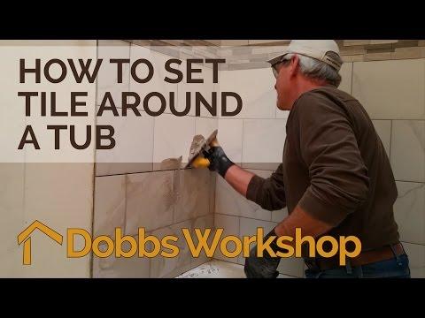 Ceramic Tub Surround - YouTube