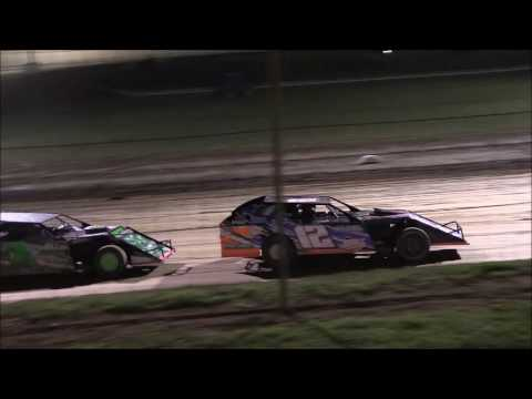UMP Modified Heat #3 from Portsmouth Raceway/Dirt Track World Championship, 10/13/16.